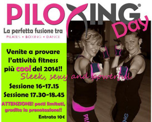 """PILOXING DAY"" DA ASTRID FITNESS"