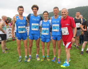 INTERNATIONAL SNOWDON RACE: ITALIA SUPERSTAR