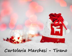 TIRANO, NATALE CON LACARTOLERIA MARCHESI