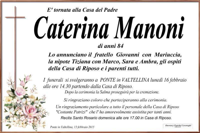 Manoni Caterina