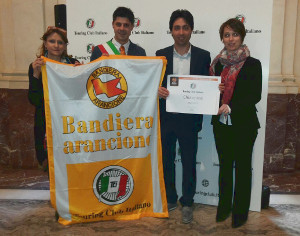 CHIAVENNA É BANDIERA ARANCIONE DEL TOURING CLUB ITALIANO