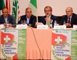 """FRONTALIERI, MARONI: """"POSIZIONE COMUNE SU PROBLEMI LAVORATORI"""""""
