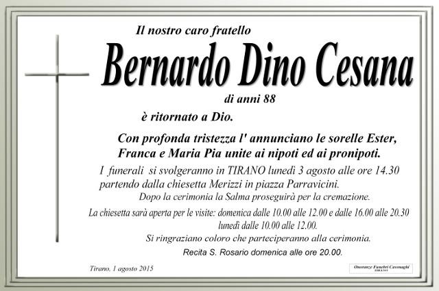 Cesana Bernardo Dino