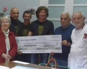 3.000 EURO ALL'HOSPICE SIRO MAURO GRAZIE AL CONCERTO DEI GANG A TIRANO