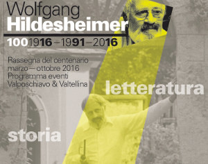 WOLFGANG HILDESHEIMER, POSCHIAVO OMAGGIA IL SUO CITTADINO D'ONORE