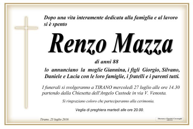Renzo Mazza