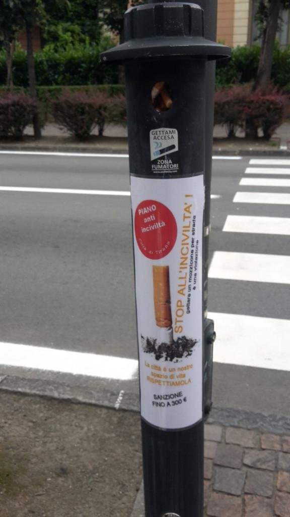 Mozziconi sigarette_posacenere