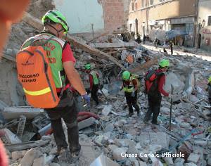 SOCCORSO ALPINO: TERMINATE LE OPERAZIONI NELLE ZONE TERREMOTATE
