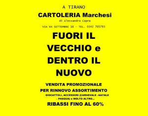 CARTOLERIA MARCHESI, FUORI IL VECCHIO DENTRO IL NUOVO