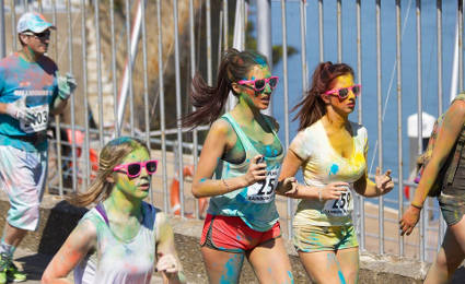 /color run aprica