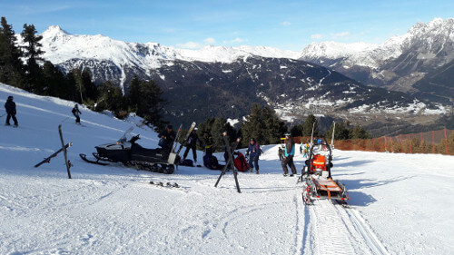 incidente piste sci bormio